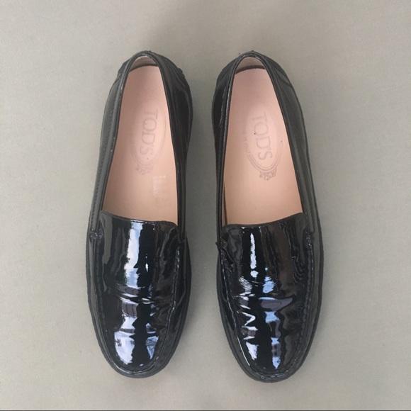 fd737ac29516 Tod s black leather platform loafers. M 5b7c72520cb5aaa5f16069c2
